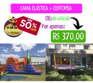 Cama Elástica + Centopéia